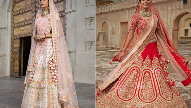 Photo of 8 Elegant Wedding Lehenga Ensembles Online for Every Pastel-Loving Bride