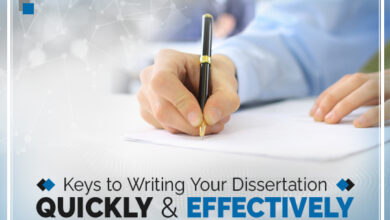Photo of Keys to Writing your Dissertation Quickly and Effectively:
