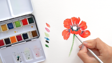 Photo of Water Flower Drawing ideas for kids