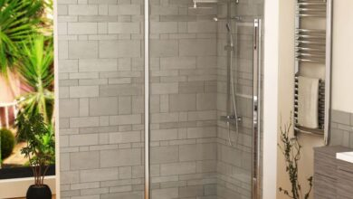 Photo of Frameless walk in shower enclosures in the cloakroom can do wonders