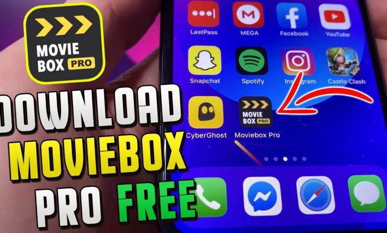 Download MovieBox App