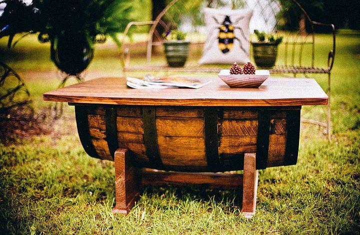 distressed wood furniture