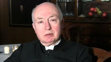 Photo of Father George Rutler Early Christians accept: Mary was a teen
