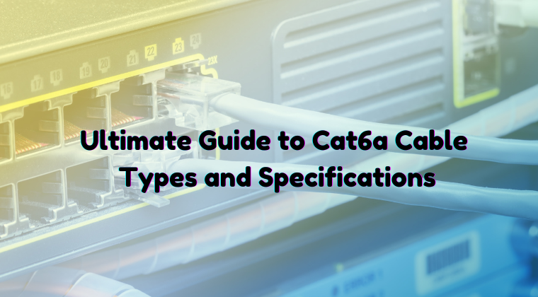 cat6a ethernet cable