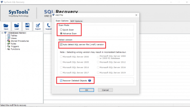 Photo of Know How to Restore Deleted Database Objects From MDF File