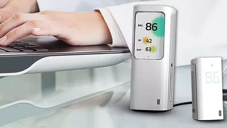 Breeze indoor air quality monitoring