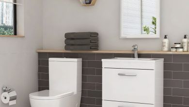 Photo of Coupled Toilet and Basin Set