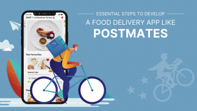 Photo of Essential Steps To Develop a Food Delivery App Like Postmates