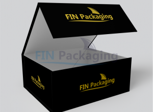 Photo of Custom packaging boxes with logos