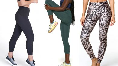 Photo of Different styles and colors of the best leggings