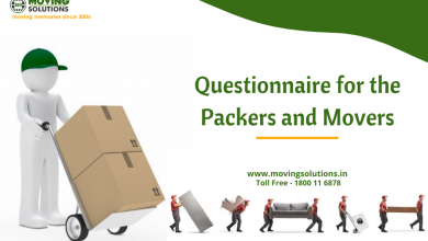Photo of Questionnaire for the Packers and Movers