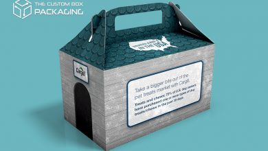 Photo of Custom Gable Boxes- A Packaging Box with a Convenient Design
