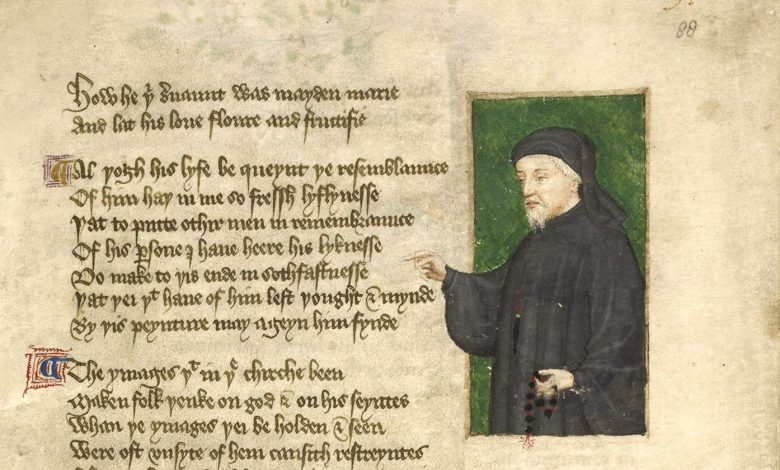 Chaucer the poet of english