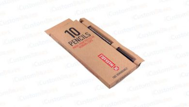 Photo of Get Printed Customized Pencils Boxes at ICustomBoxes